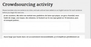 crowdsourcing activity form